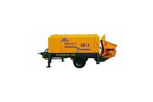 Shantui HBT8016R-I Trailer-Mounted Concrete Pump