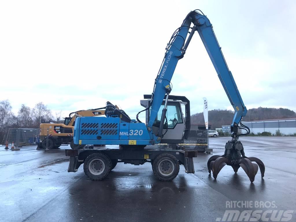 Fuchs MHL 320 D **Bj2014/16.500H/ ZSA/Lift Kabine**