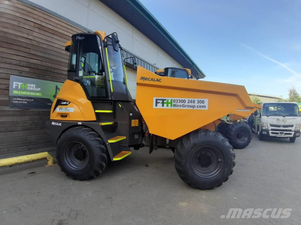Mecalac 9 MDX Straight cabbed dumper