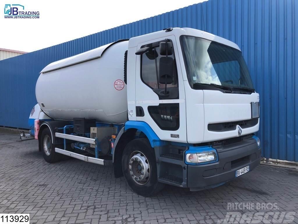 Renault Premium 270 16218 liter LPG / GPL gas tank, 25 Bar