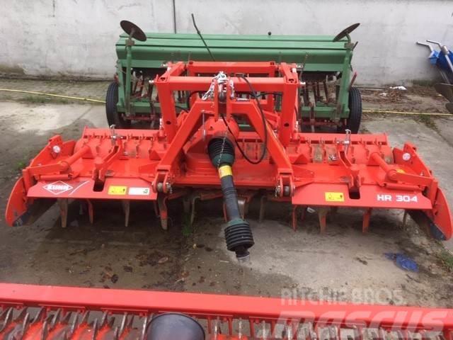 Kuhn Rotorkopeg HR304D met hydraulische hefinrichting