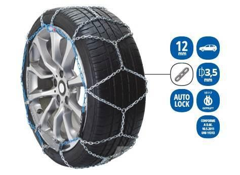 Veriga PRO COMPACT 12 SNOW CHAIN FOR CAR