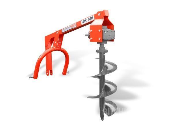 Bagramet tractor ground drill/Erdbohrer /  Świder ziemny