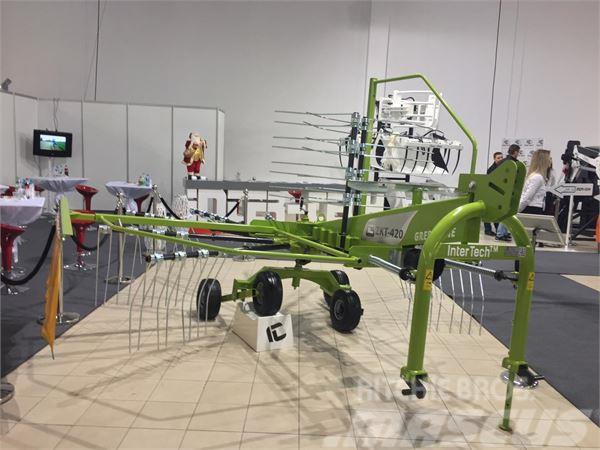 Inter-Tech Kreiselschwader 4,2m/ rotary rake/ zgrabiarka