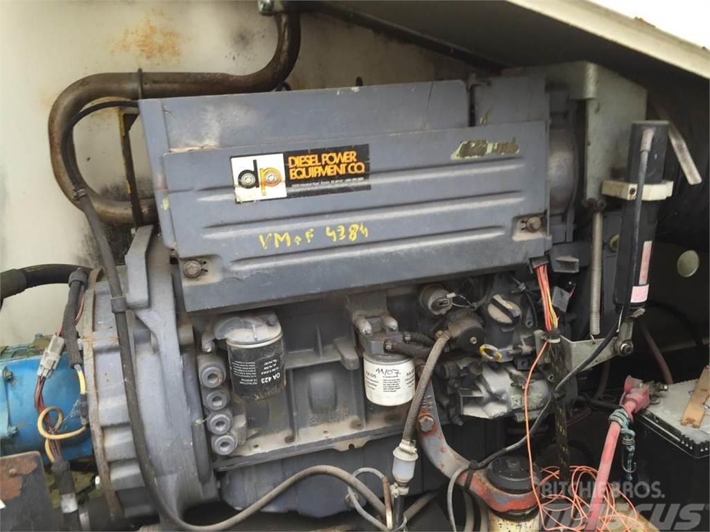 Deutz ENGINE MOTOR F4L 1011 with Vickers hydraulic pump