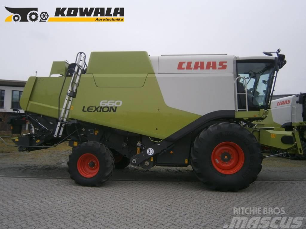 CLAAS Lexion 660 + V750
