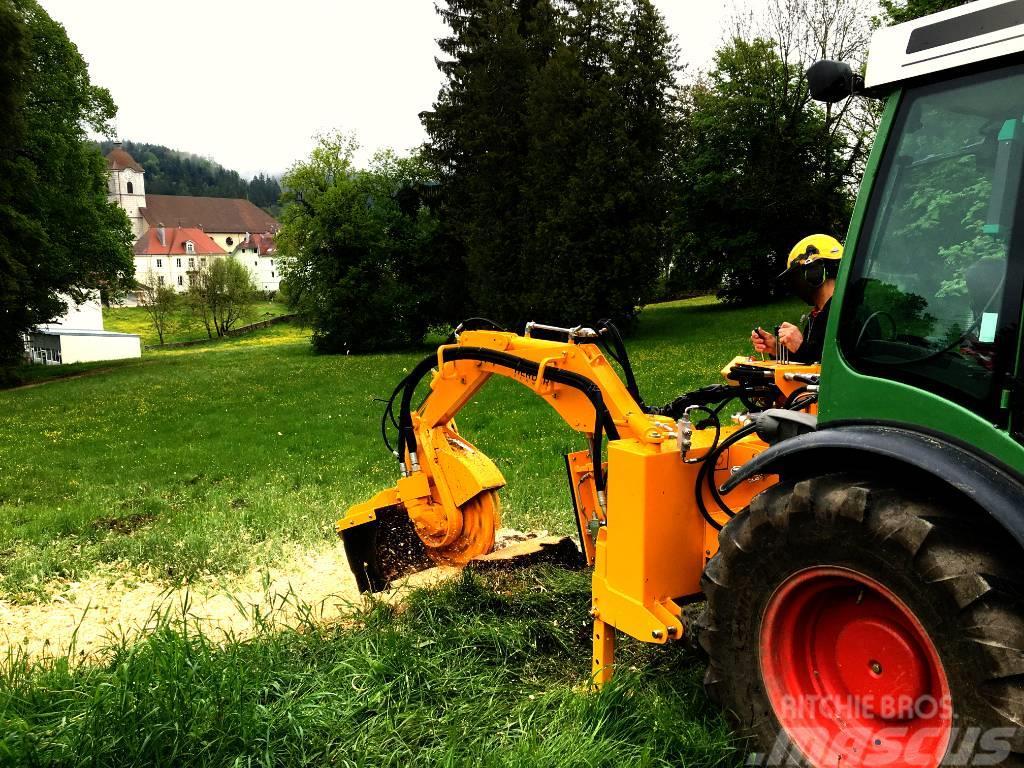 Herder SC-550H | Baumstumpffräse für Schlepper