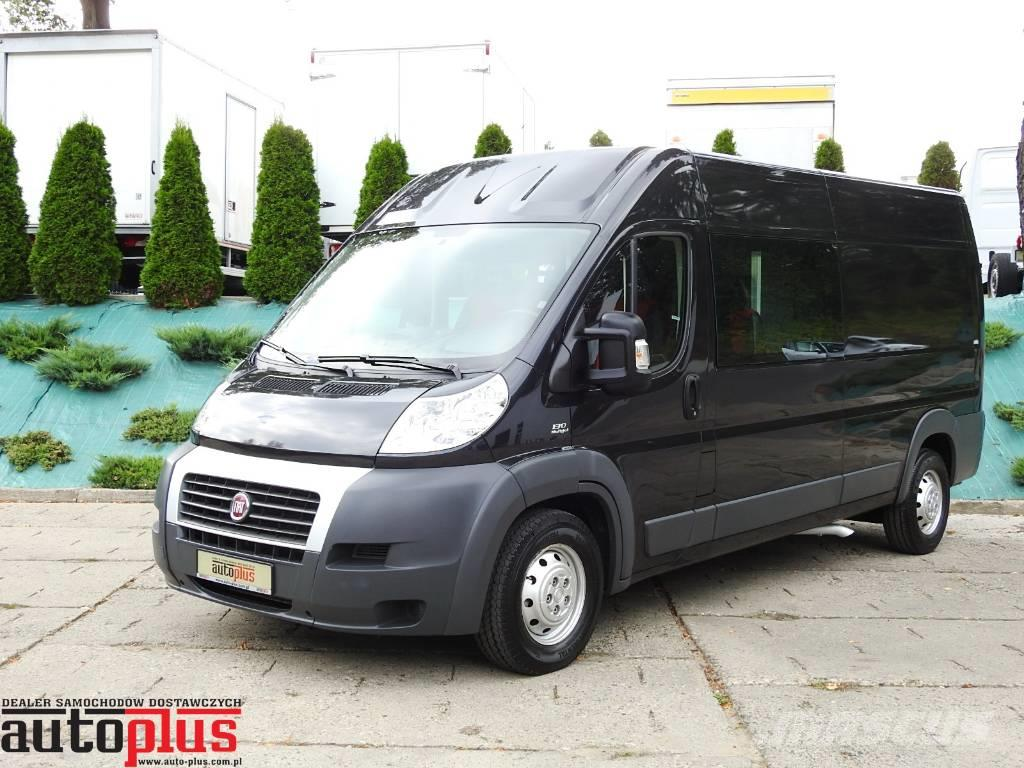 fiat ducato furgon brygadowy 6 miejsc a c preis baujahr 2013 lieferwagen gebraucht. Black Bedroom Furniture Sets. Home Design Ideas
