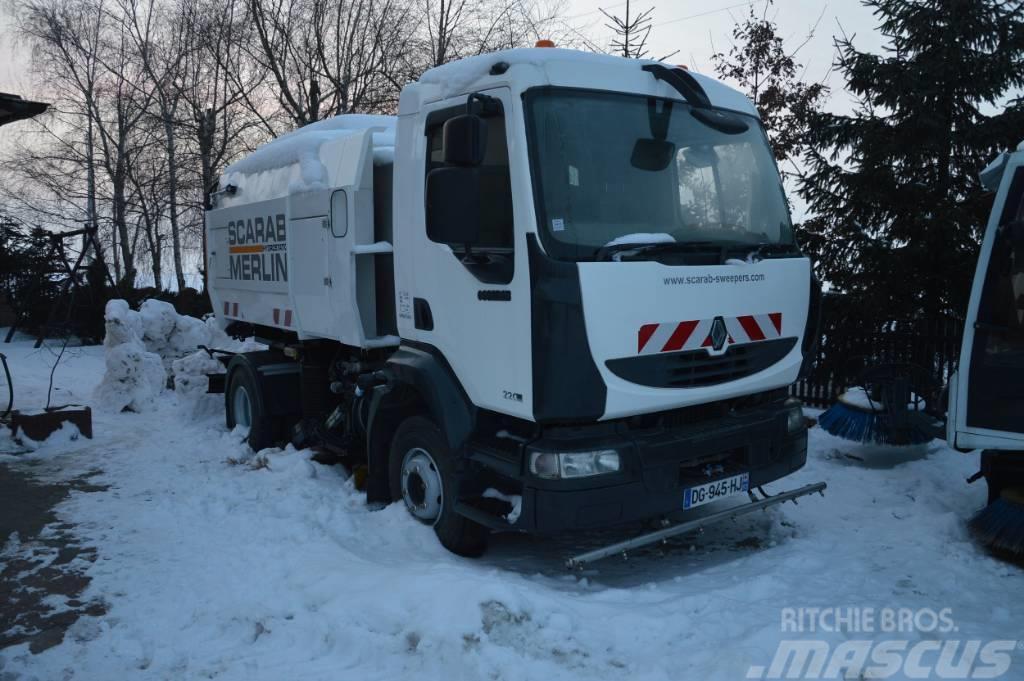 Renault Midlum 220 DXI SCARAB - Zamiatarka