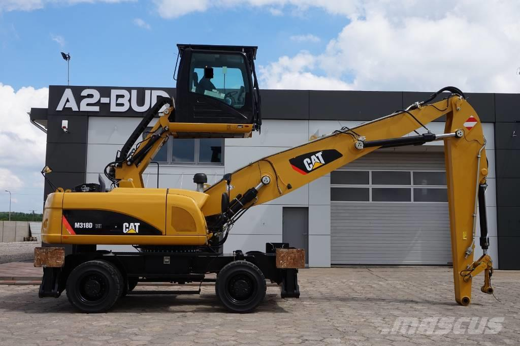 Caterpillar M 318 D MH * SEE THE MOVIE *