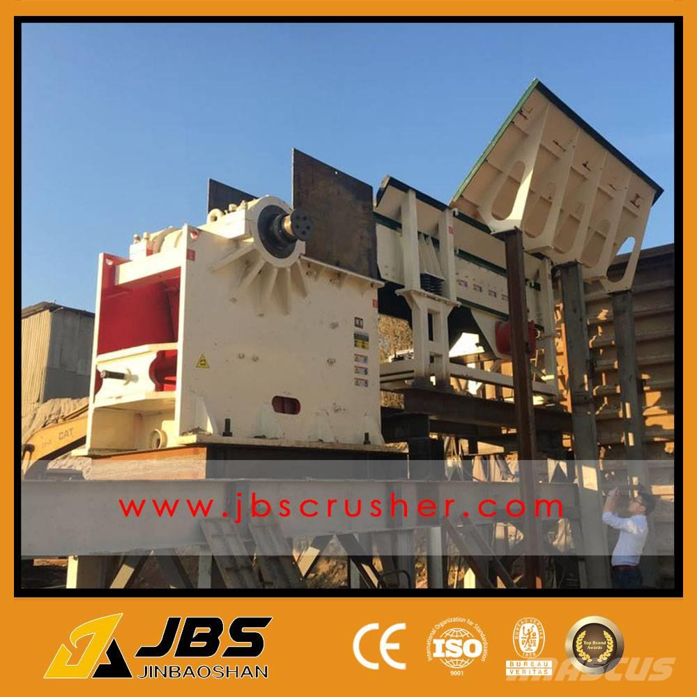 JBS Used River Stone Crusher Plant
