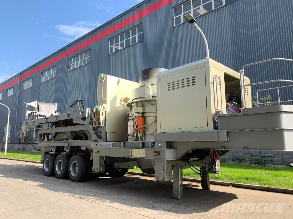 Kinglink KL1860HP300 Mobile Cone Crusher Crushing Plant