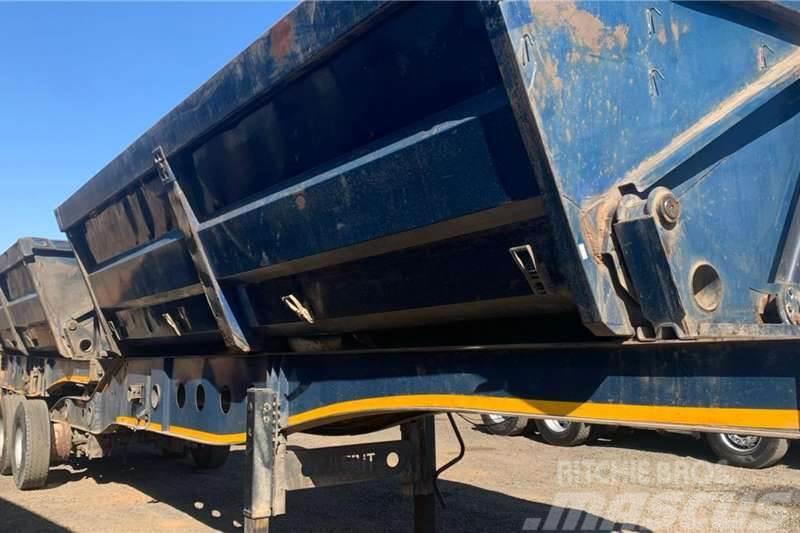 Afrit 2008 Afrit 45m3 Interlink Side Tipper