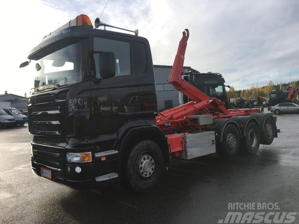 Scania R500 8x2