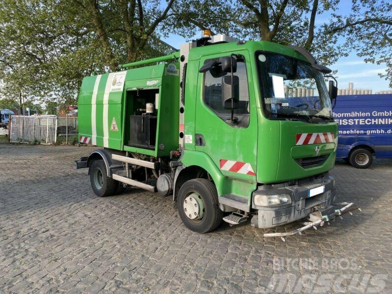 Renault Midlum CNG/Erdgas Schwemmfahrzeug/Streetwasher