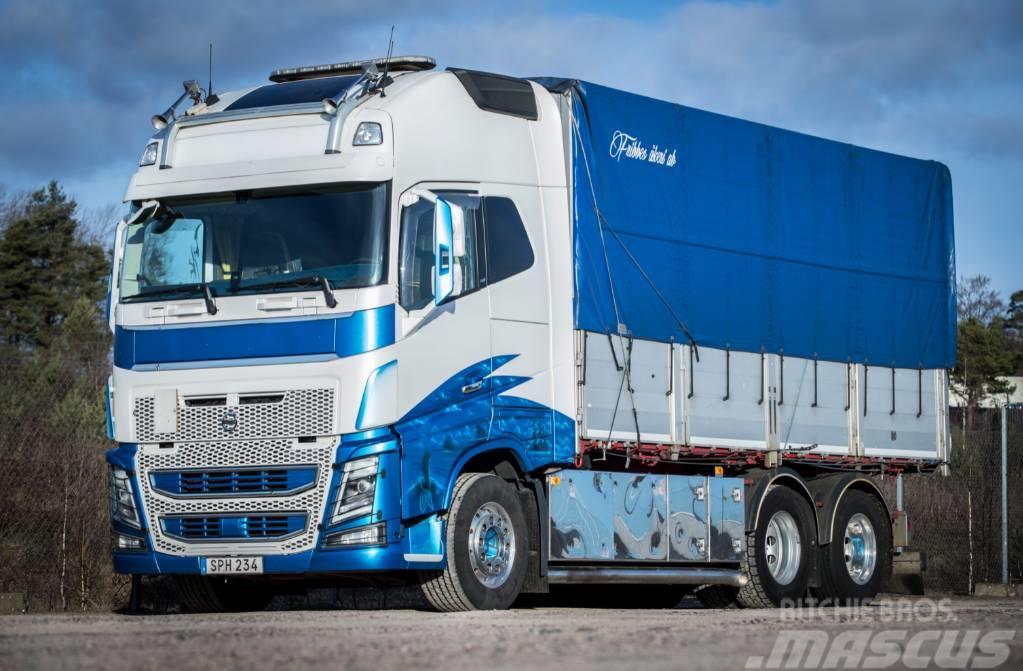 Volvo FH16 750 hk - 2014 Tipp, Spannmål