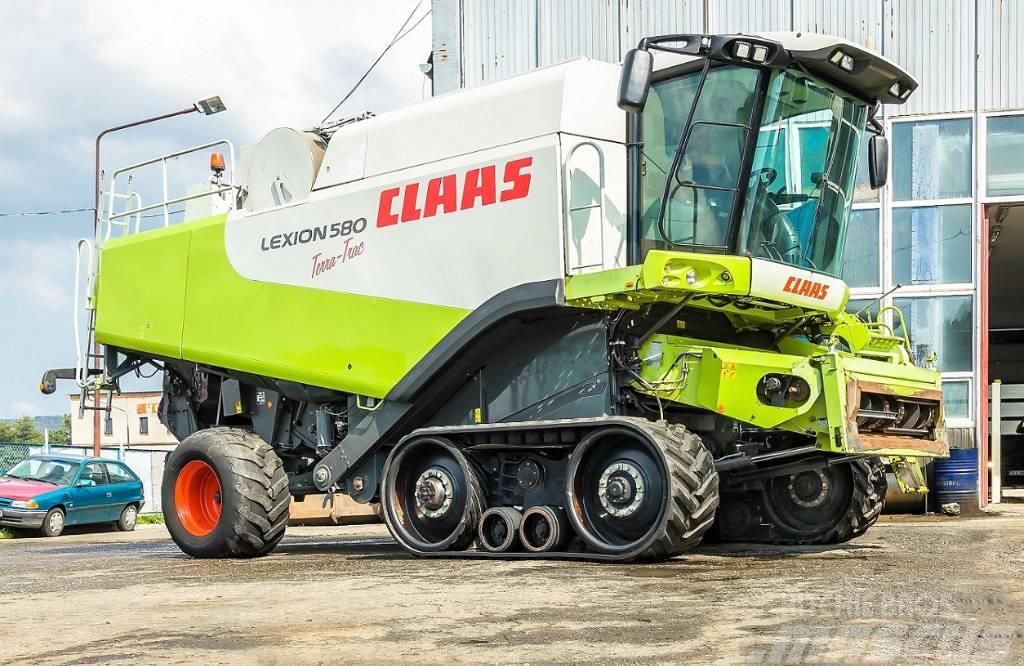 CLAAS LEXION 580 TT - MERCEDES 652 KM -2006+ CORN POWER