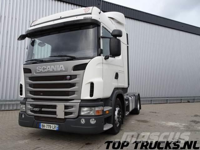 Scania G420 Highline, Ad Blue, Manual, Retarder