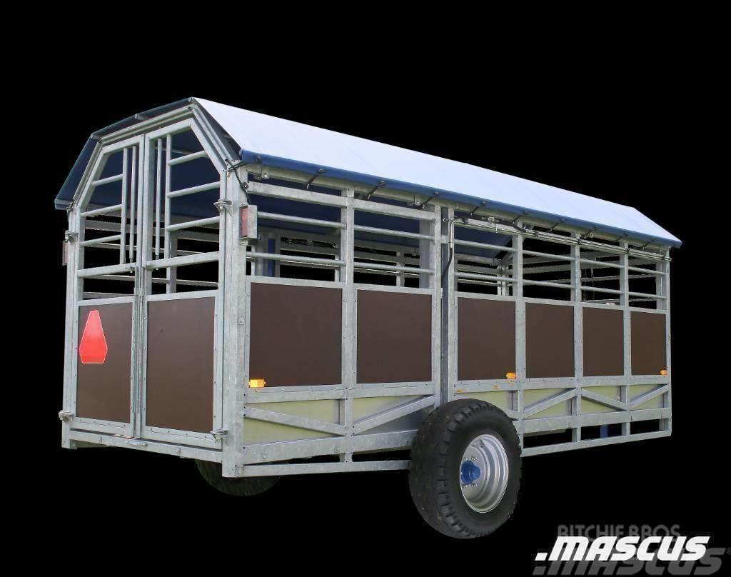 Jyfa Djurtransportvagn Hydraulvagn 5 M NY
