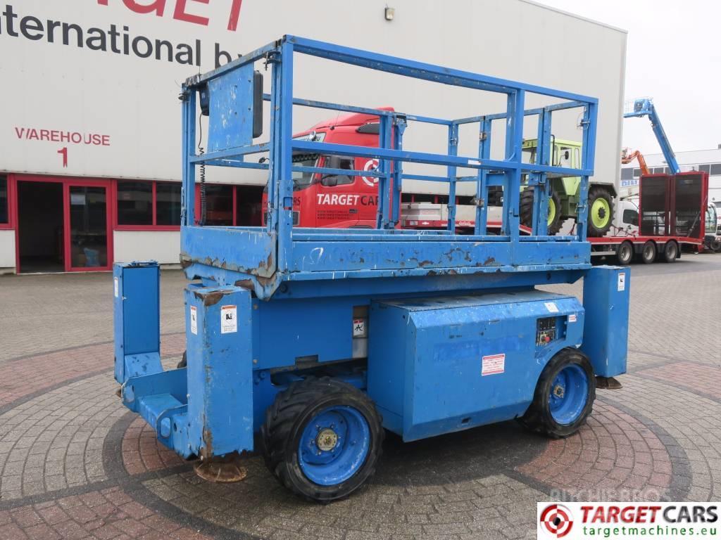 Genie GS2668RT Diesel 4x4 Scissor Lift 992cm Jacklegs