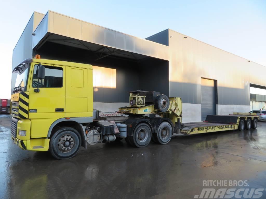 DAF XF95.480 + nicolas trailer
