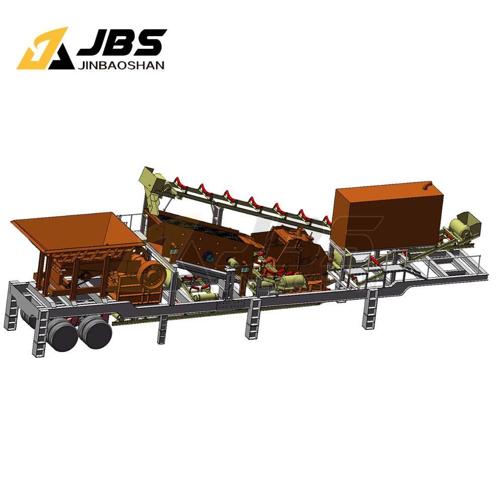 JBS MC4060 Mobile Stone Crushing and screening plant