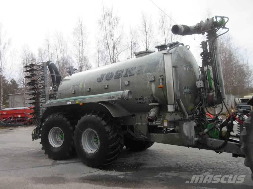 Joskin 14000 litr+7m kiekkomultain
