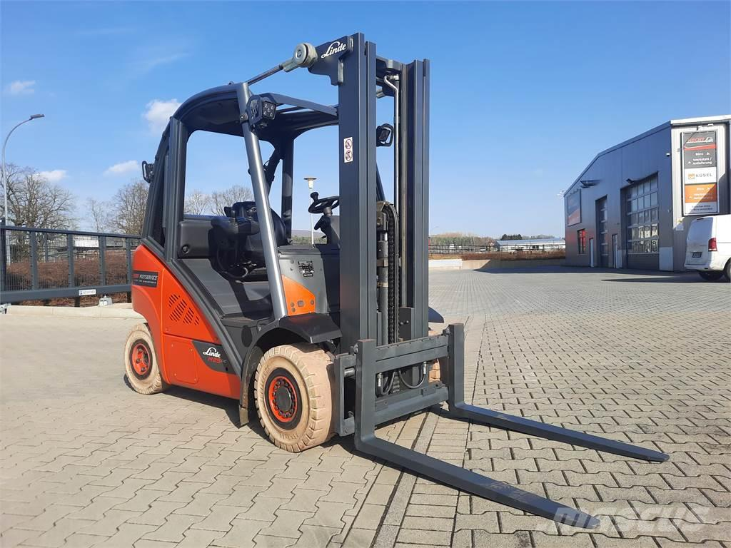 Linde H25T-only 3142 hours!