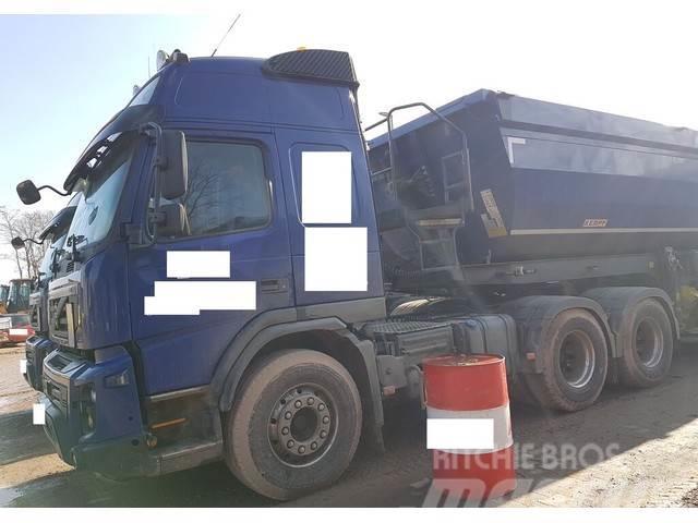 Volvo FMX500L 6x4 Kipphydraulik