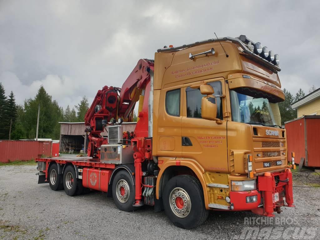 Scania 164 V8 580hv