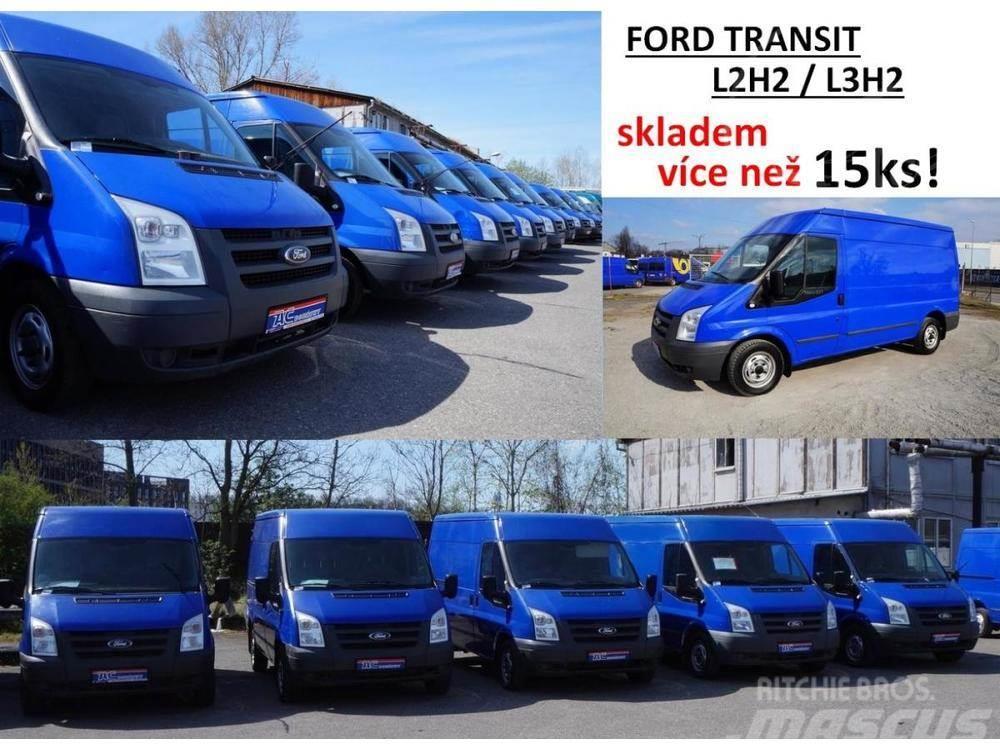 Ford Transit na výběr více než 15ks
