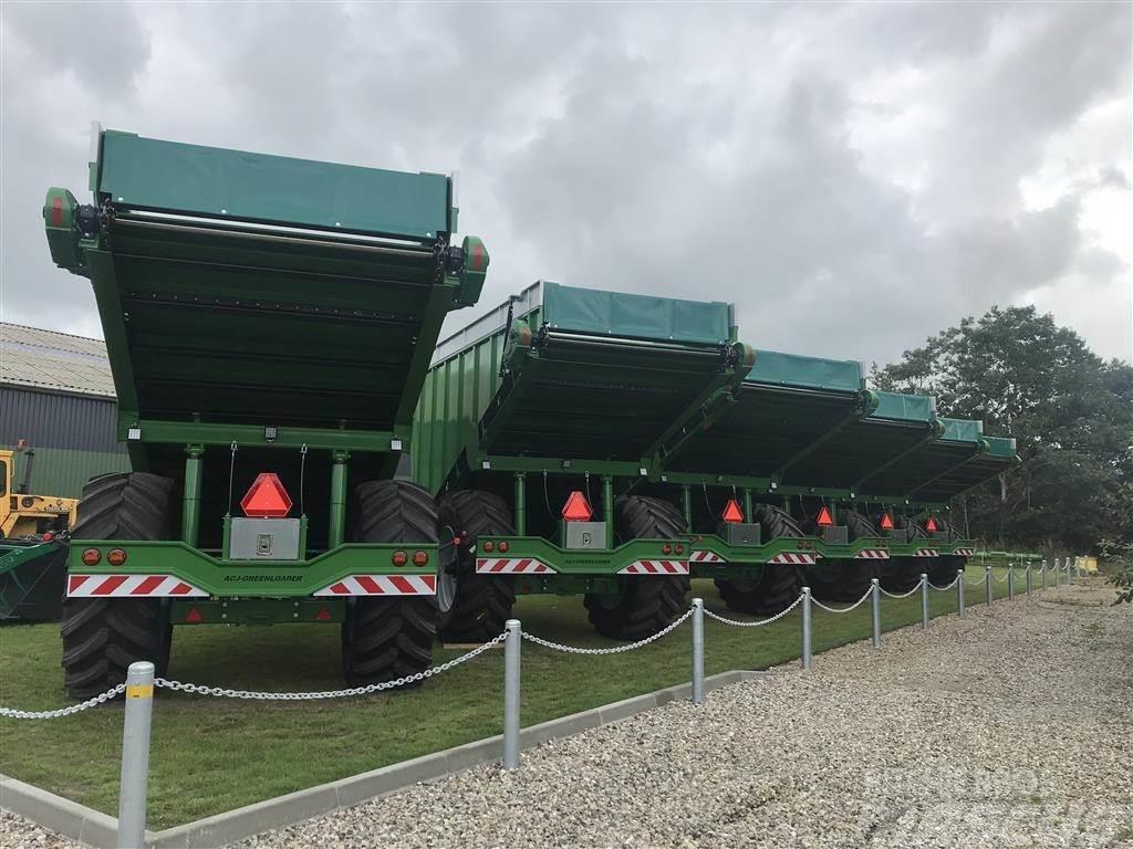 ACJ Greenloader overlæssevogn 27 kbm til majs og græs.