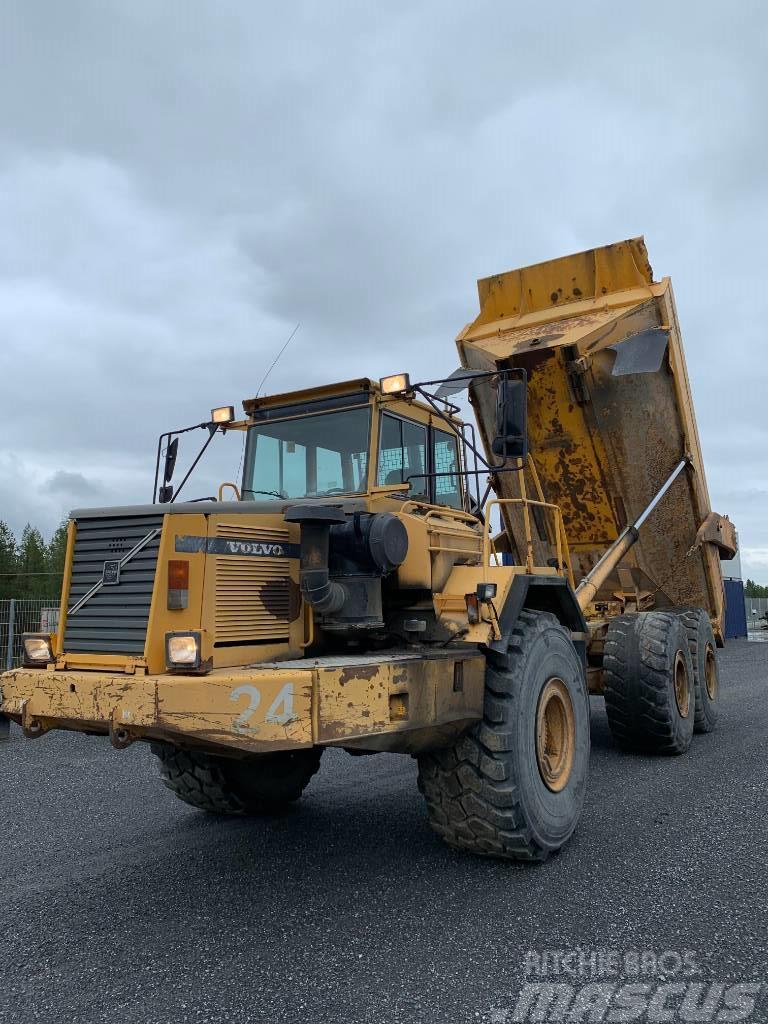 Volvo A40C Dumper 6x6 295.000:-