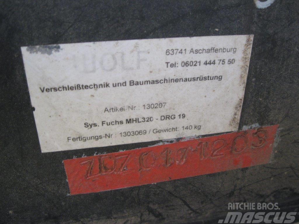 Wolf SCHRAUBADAPTER FUCHS MHL320 ZU MTS UND DEMAREC