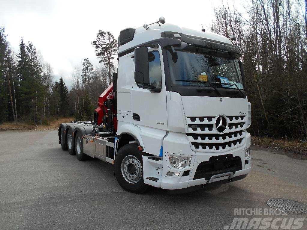 Mercedes-Benz Arocs  3253 kran/Växlare Snabb leverans!