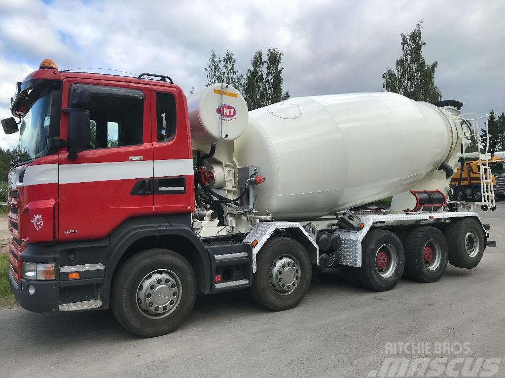 Scania R 470 CB 10X4*6 uudella 12m3 mikserillä