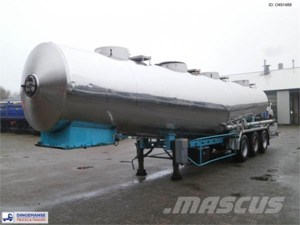 Magyar Chemical tank inox 31.9 m3 / 1 comp