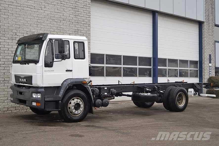 MAN CLA 16.220 BB 4X2 CHASSIS CABIN (9 units)