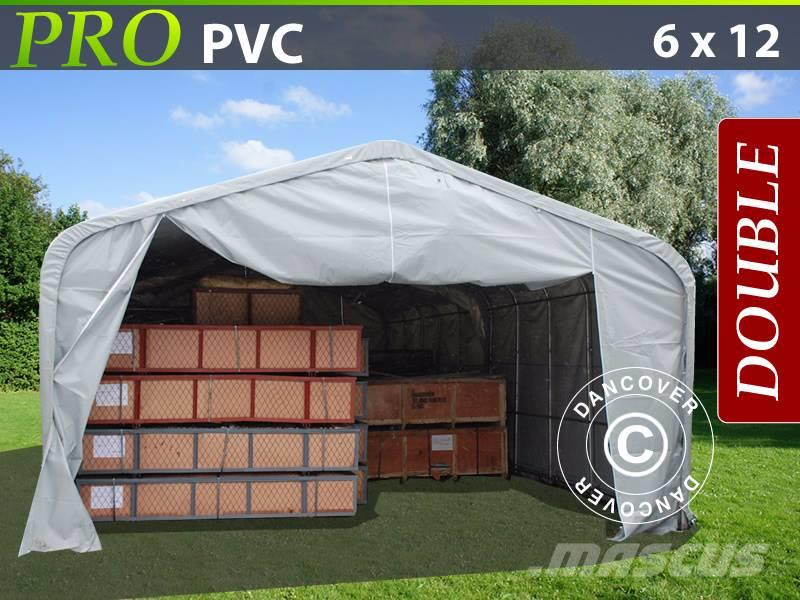 Dancover Storage Shelter 6x12x3,7m PVC, Telthal