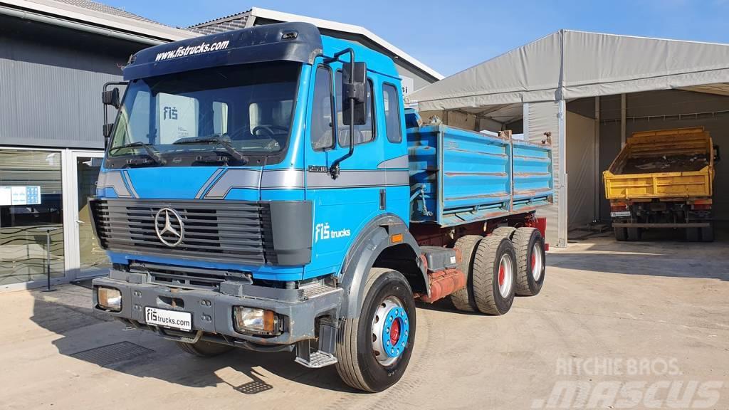 Mercedes-Benz SK 2538 K 6x4 meiller tipper