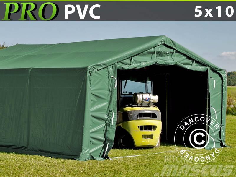 Dancover Storage Shelter 5x10x2x2,9m PVC, Telthal
