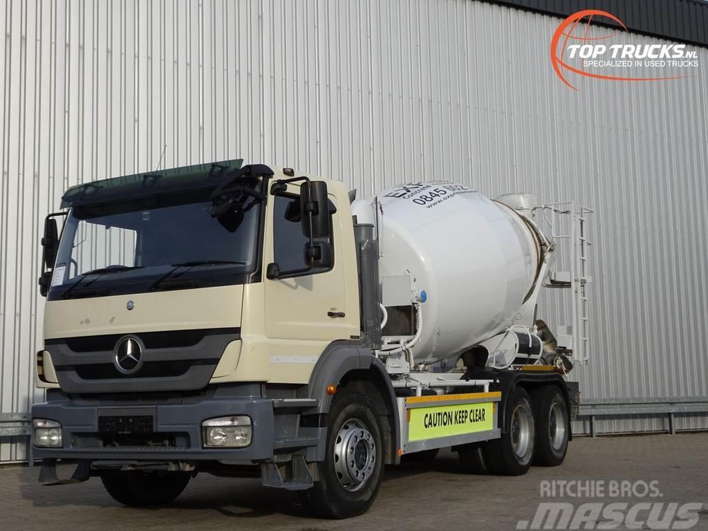 Mercedes-Benz Axor 2633 6x4 RHD - Mixer, Concreet, Beton Mischer