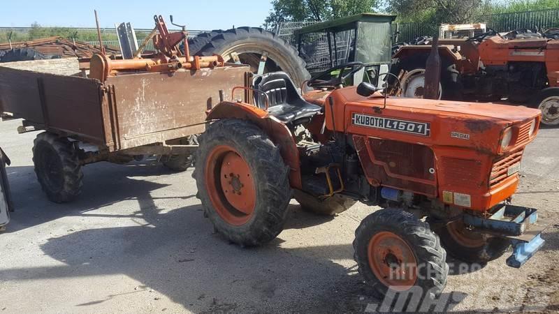 [Other] Tractor Kubota L1501 + Reboque + Charrua + Freze