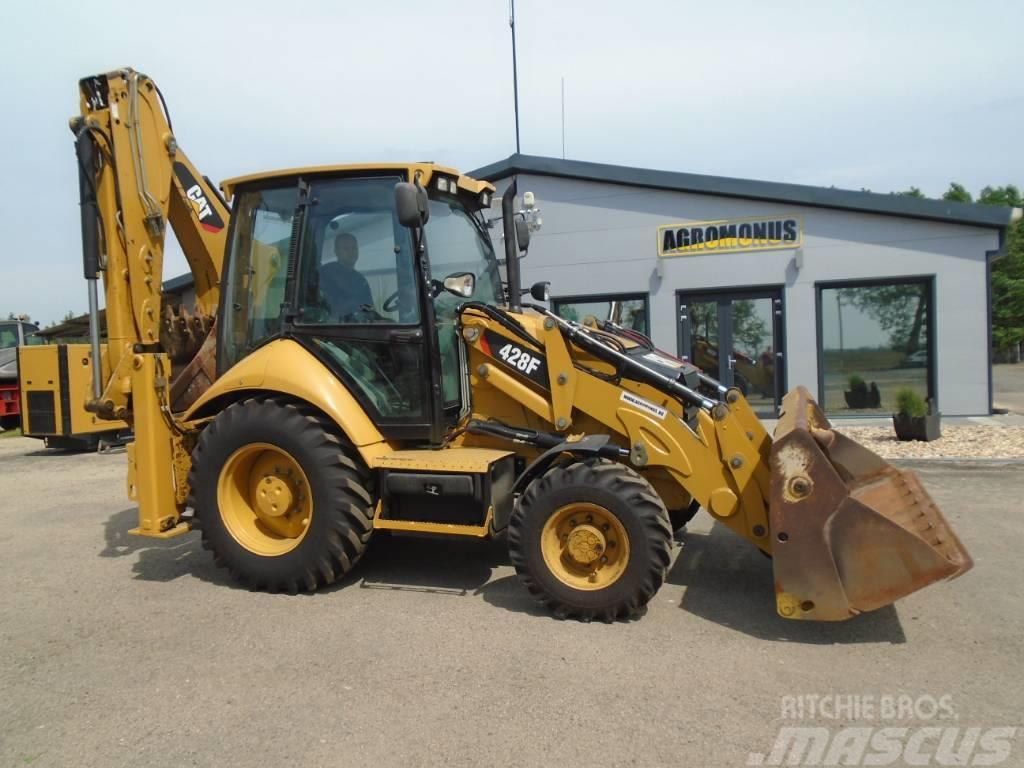 Caterpillar 428F 4100h 4x new tyres