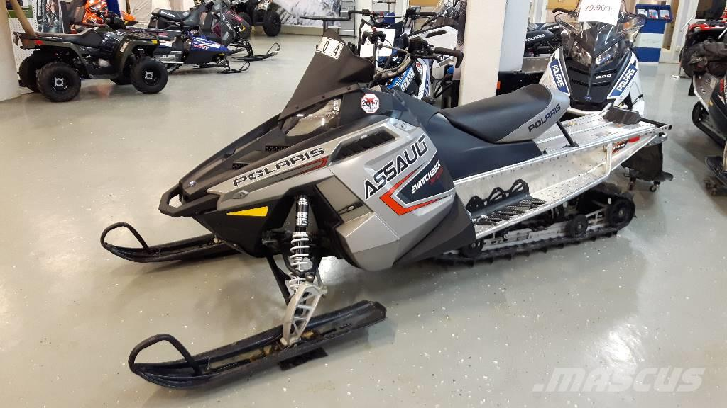 Polaris SB Assult 800-144 - 2011, Passa På !