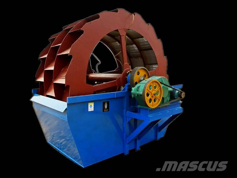 White Lai Sand Washing Machine Wheel Sand Washer XSD3016