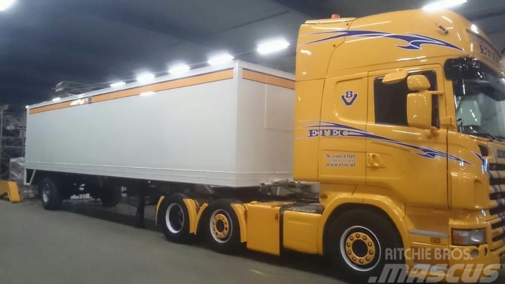 Sanitair trailer, Baujahr: 2014, Anhänger-Kastenaufbau ...