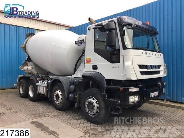 Iveco Trakker 410 8x4, Frumecar, 9 M3, Beton / Concrete