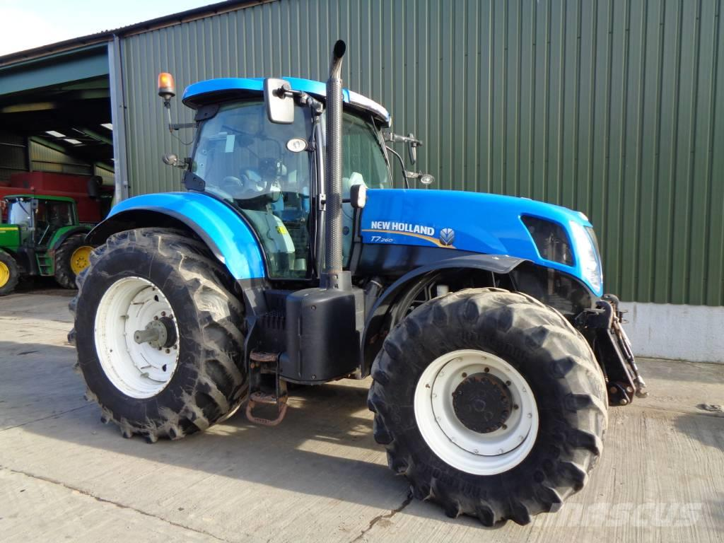 New Holland T 7.260 50k tractor