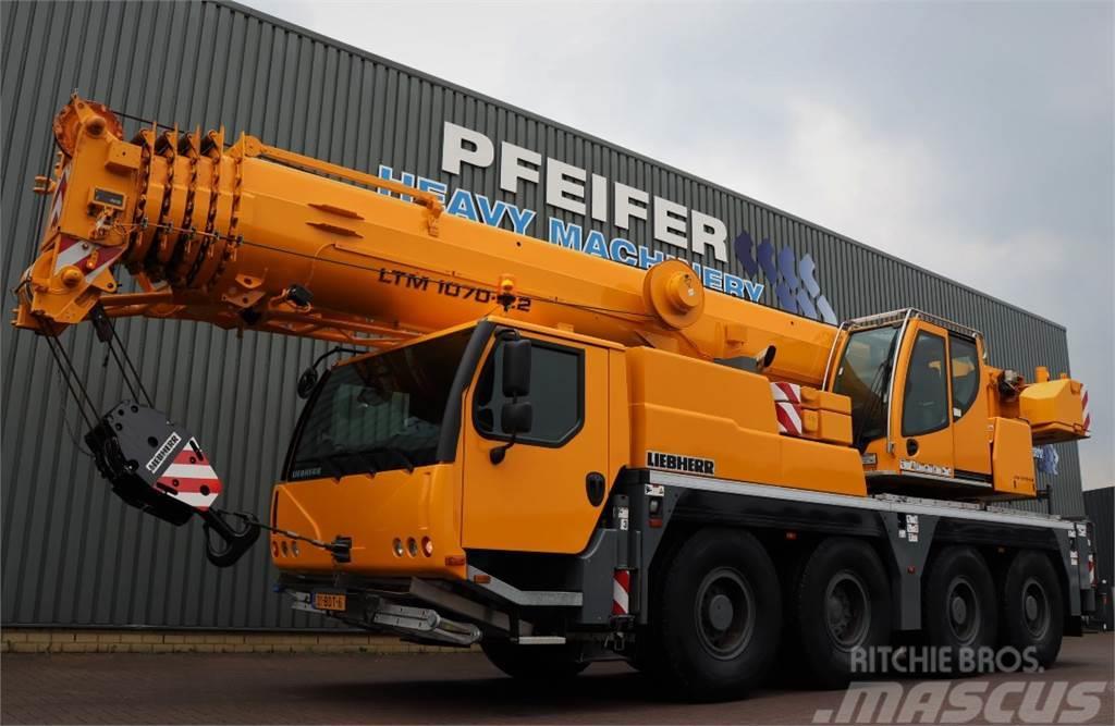 Liebherr LTM1070-4.2 Valid inspection, *Guarantee! 8x6x8 Dr